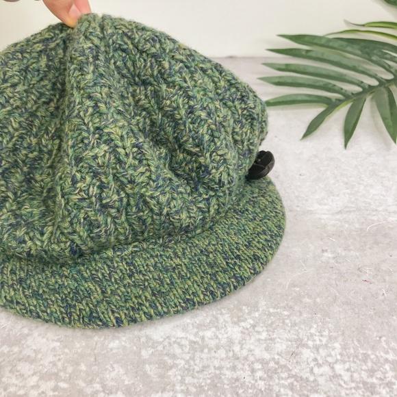 Anthropologie Accessories - Anthropologie MOTH Green Newsboy Wool Hat